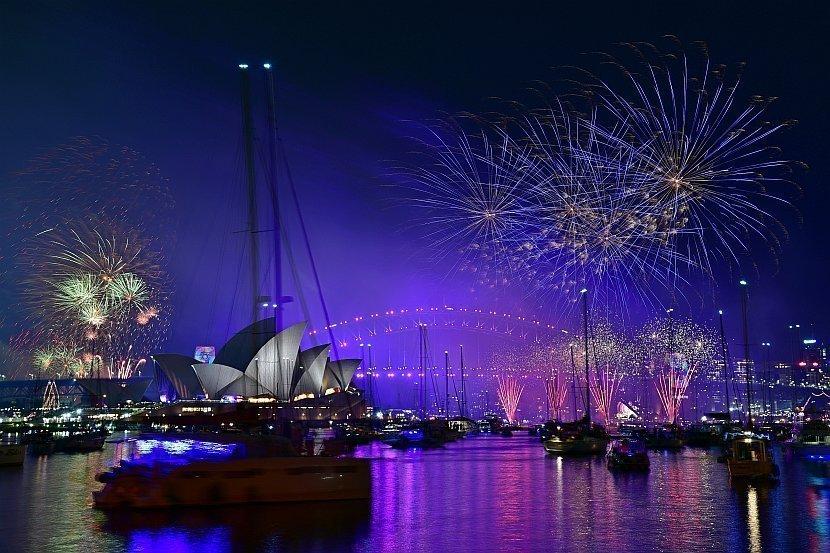 澳洲-雪梨-皇家植物園-The Point看2019年雪梨跨年煙火