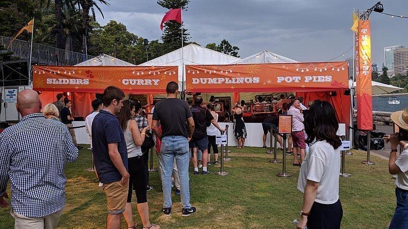 澳洲-雪梨-皇家植物園-The Point看煙火的場地