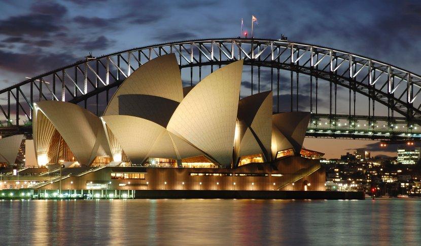澳洲-雪梨-雪梨歌劇院與港灣大橋