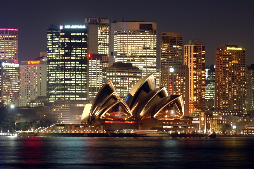 澳洲-雪梨-雪梨歌劇院