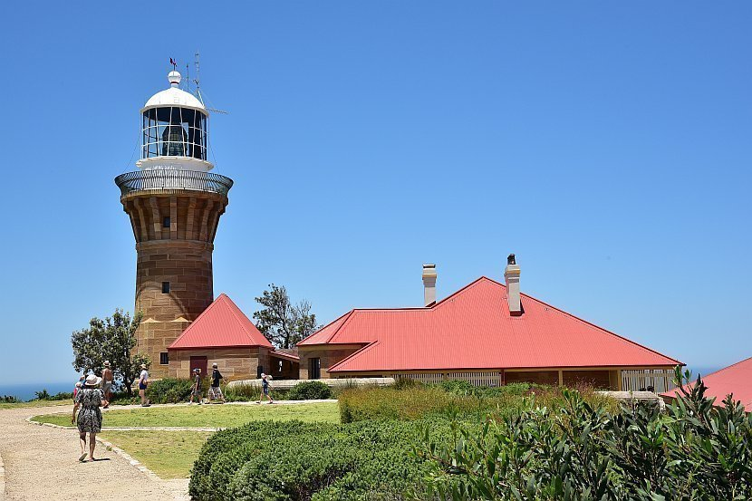 澳洲-雪梨郊區-棕櫚海灘Barrenjoey Lighthouse