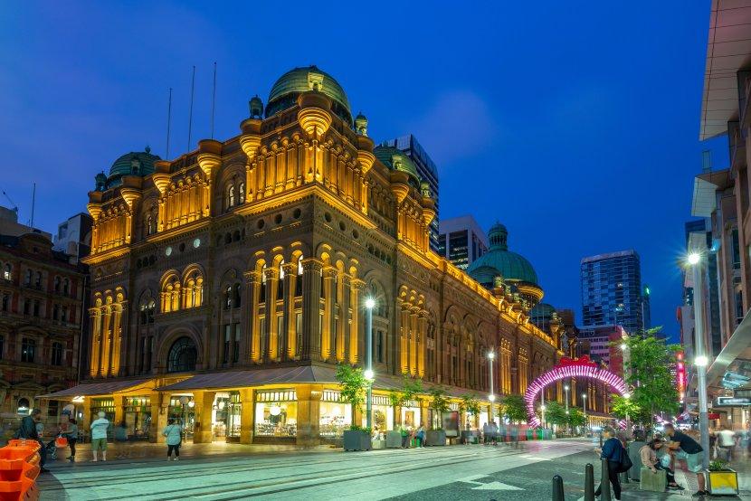澳洲-雪梨-Queen Victoria Building