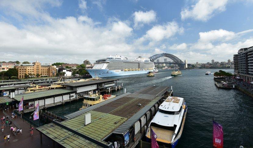 澳洲-雪梨-環形碼頭Cahill Walk
