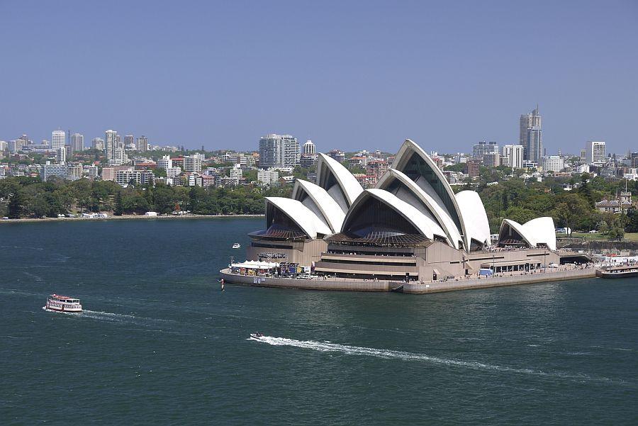 雪梨-雪梨歌劇院與雪梨港灣