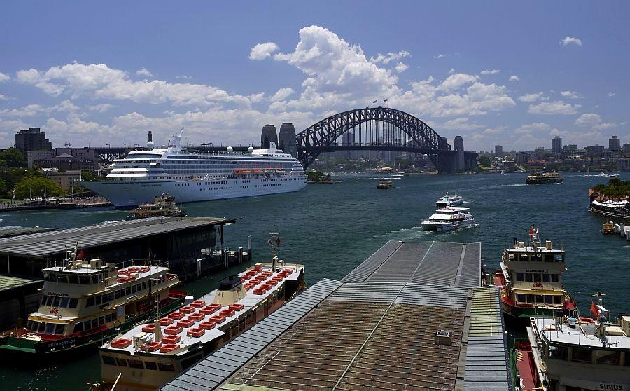 雪梨-雪梨港灣大橋與環形碼頭