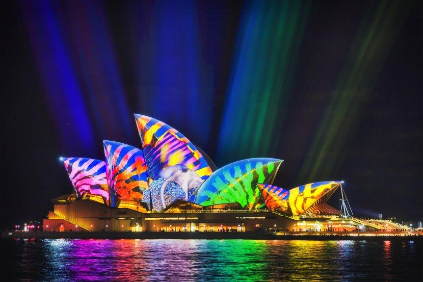 澳洲-雪梨-Vivid Sydney