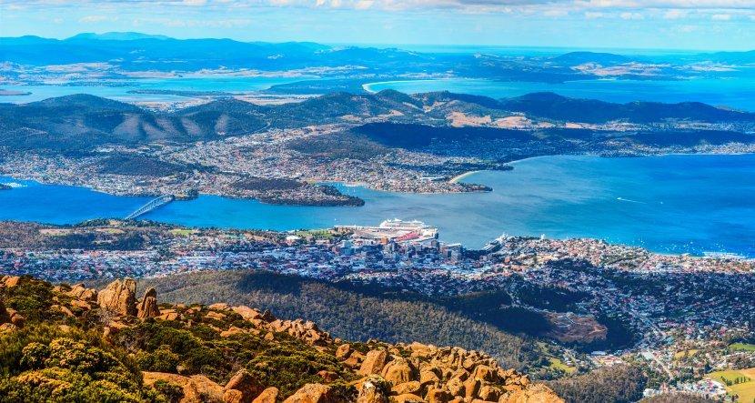 澳洲-塔斯馬尼亞-威靈頓山