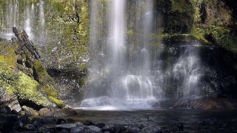 澳洲-塔斯馬尼亞-Russell Falls