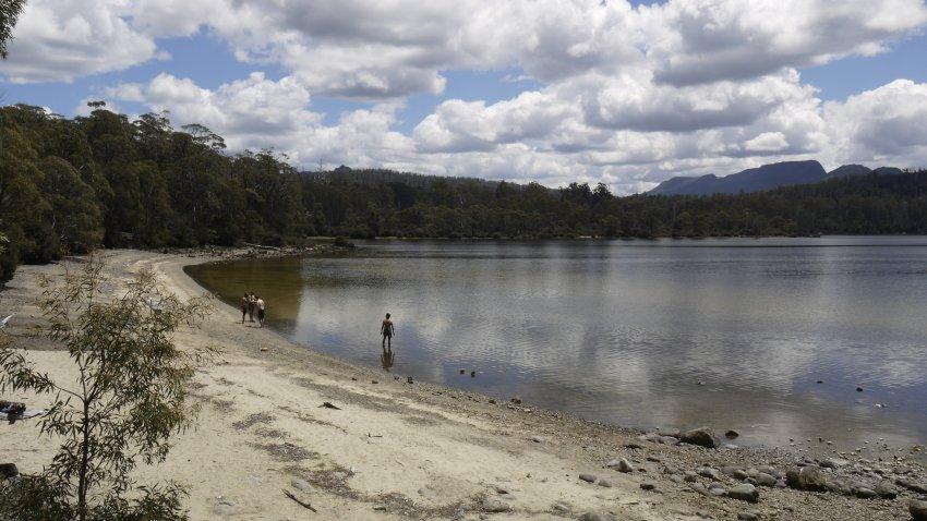 澳洲-塔司馬尼亞-Lake St Clair聖克萊爾湖