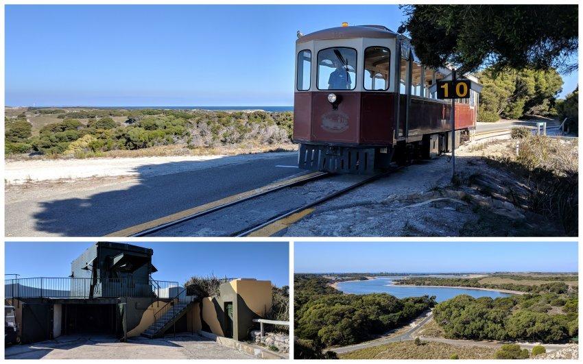 澳洲-西澳-羅特尼斯島-Oliver Hill的Captain Hussey train