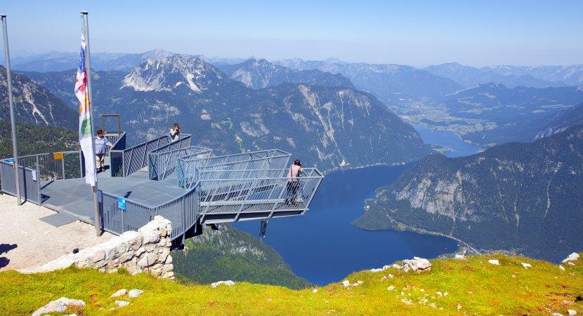 奧地利-哈修塔特-五指峰觀景台