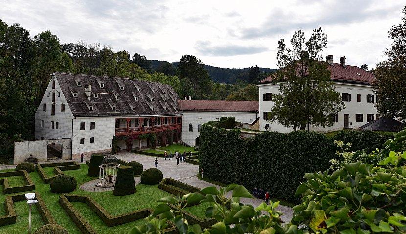奧地利-因斯布魯克-安布拉斯城下城堡
