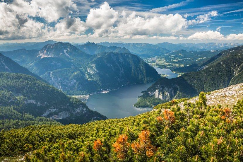 奧地利-上特勞恩-五指山觀景台