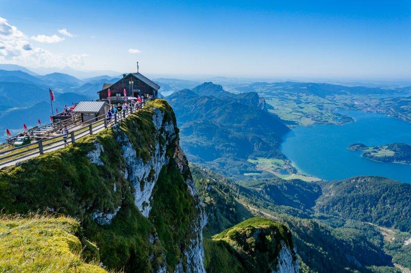 奧地利-聖沃夫岡-夏夫堡登山火車