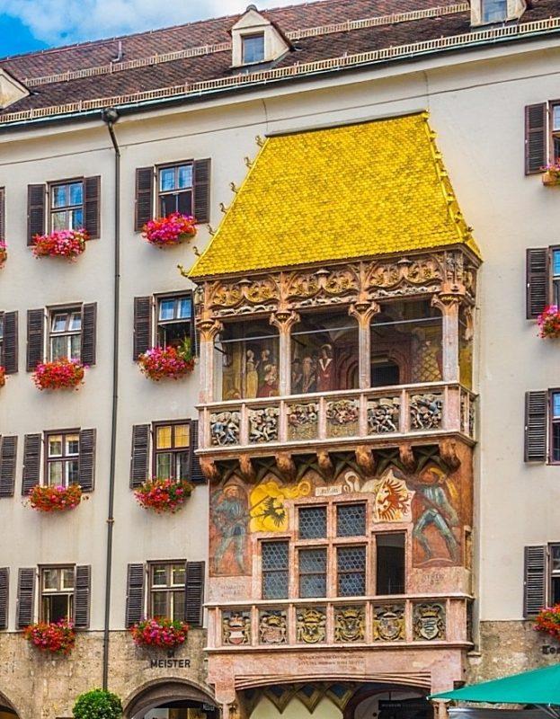奧地利-因斯布魯克-黃金屋頂