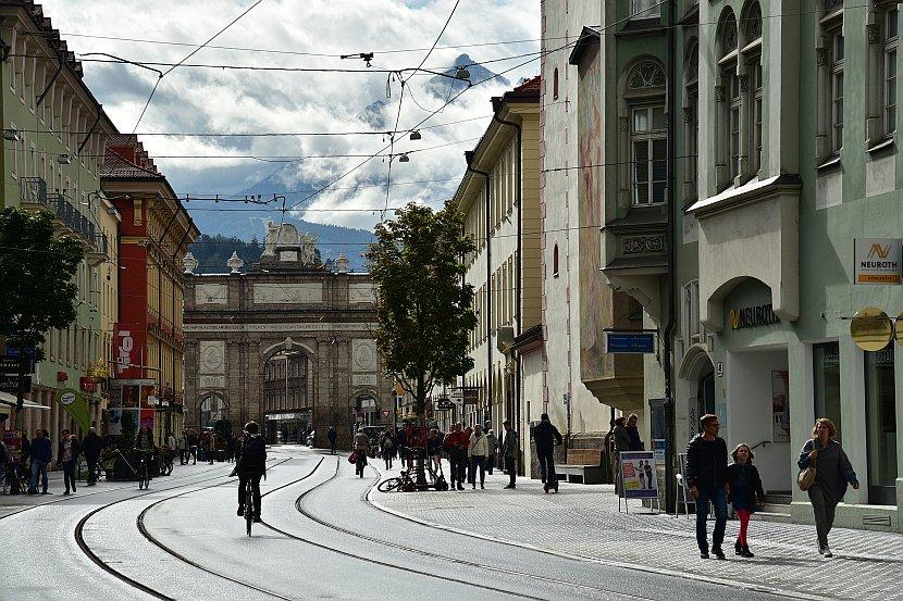 奧地利-因斯布魯克-凱旋門