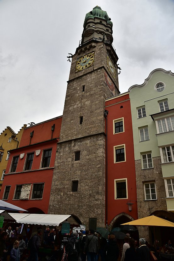 奧地利-因斯布魯克-市政廳塔樓