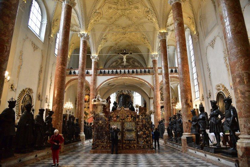 奧地利-因斯布魯克-宮廷教堂