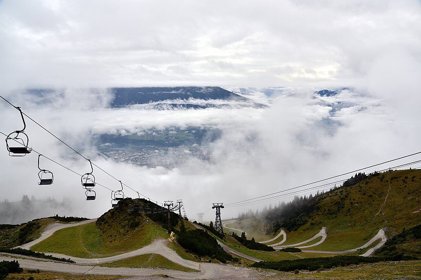 奧地利-因斯布魯克-北山纜車Seegrube區域