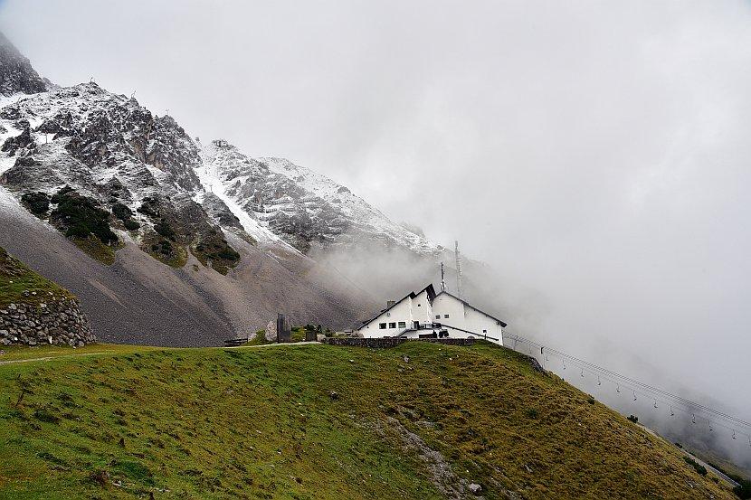 奧地利-因斯布魯克-北山纜車Seegrube纜車站