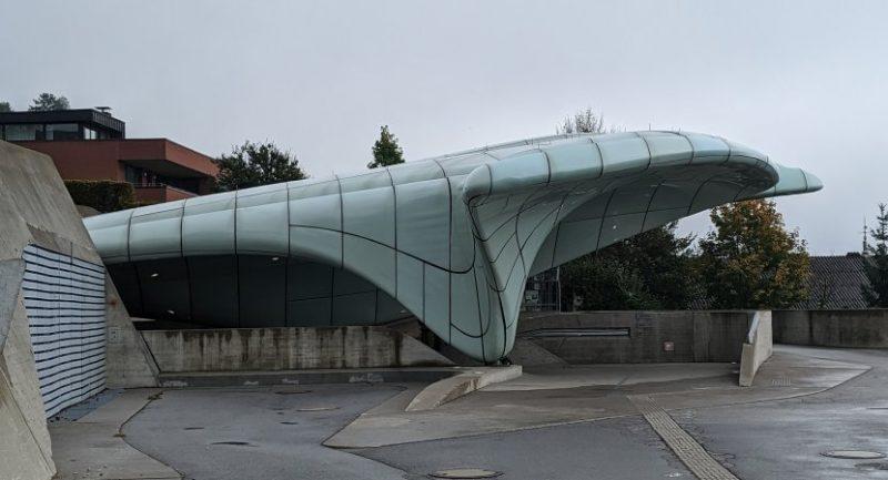 奧地利-因斯布魯克-北山纜車Hungerburg車站