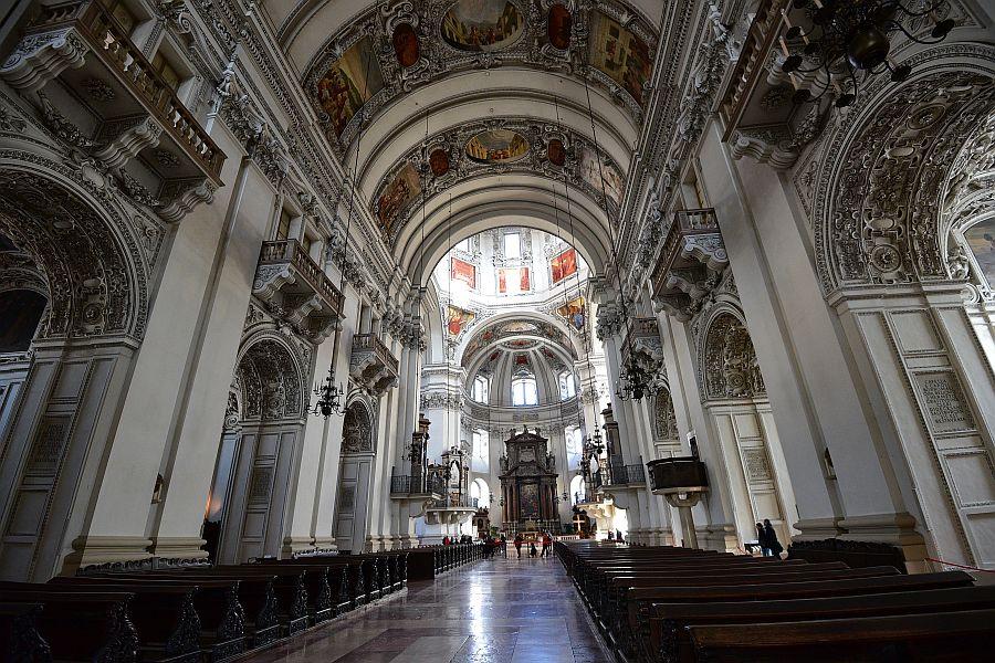 奧地利-薩爾斯堡-薩爾斯堡主教教堂