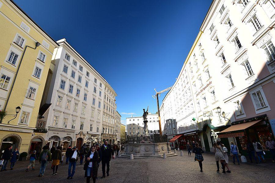 奧地利-薩爾斯堡-老市集廣場Alte Markt