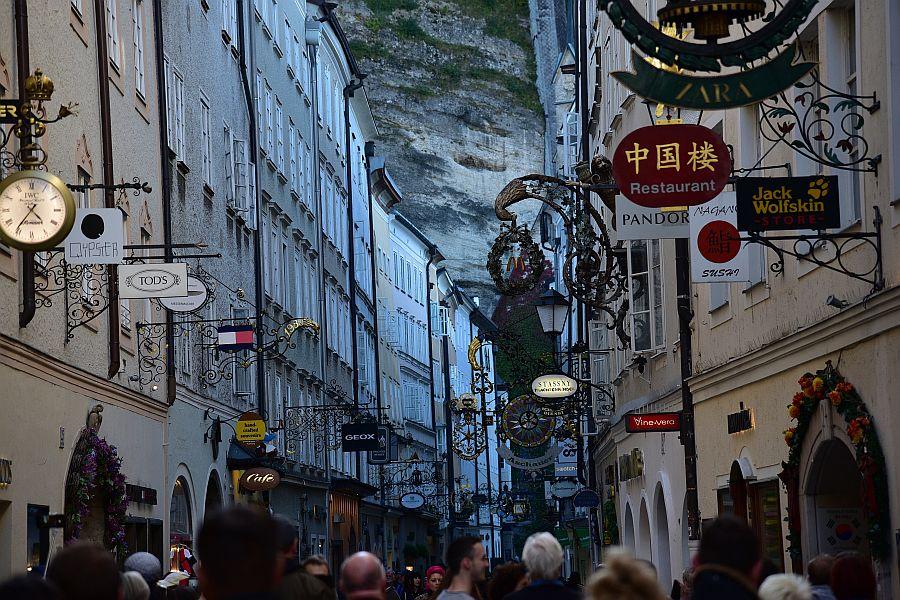 奧地利-薩爾斯堡-鍛鐵大街