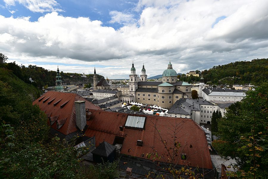奧地利-薩爾斯堡-由薩爾斯堡高地要塞看舊城區
