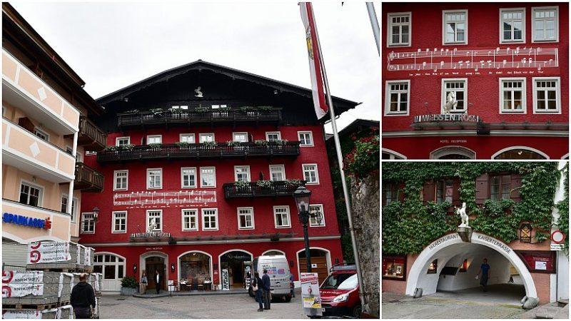 奧地利-聖沃夫岡-白馬飯店