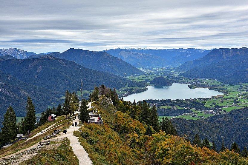 奧地利-聖吉爾根-十二角峰纜車