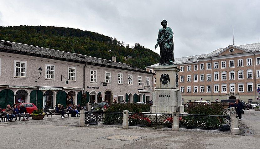 奧地利-薩爾斯堡-莫札特廣場