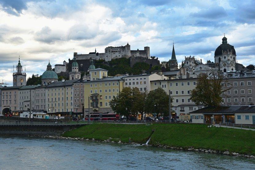 奧地利-薩爾斯堡-高地要塞