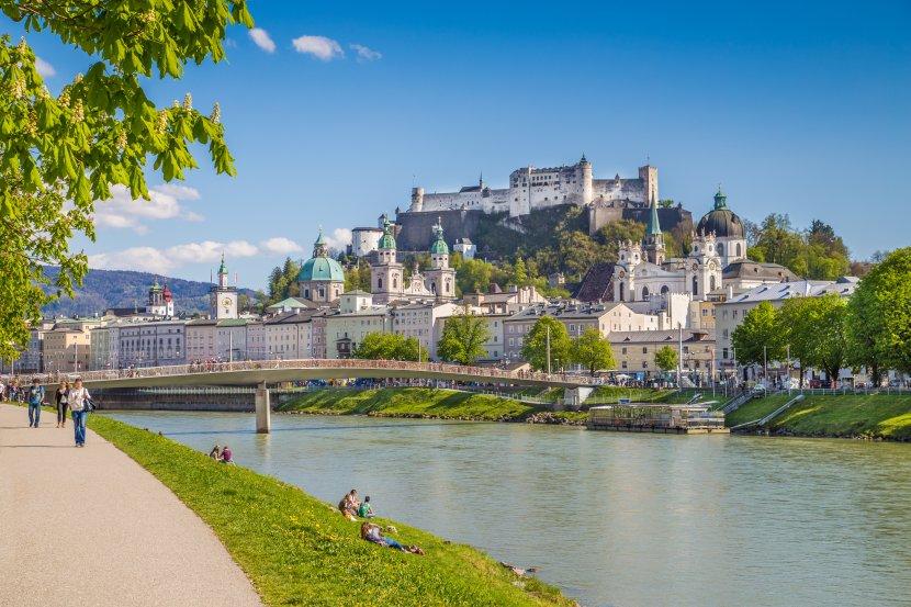 奧地利-薩爾斯堡-舊城區與薩爾斯堡要塞