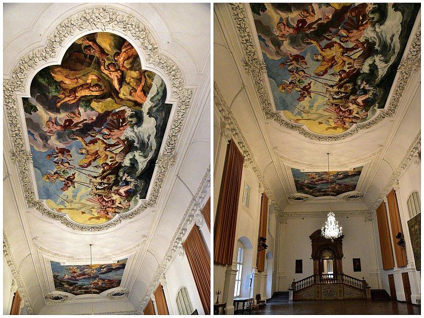 奧地利-薩爾斯堡-薩爾斯堡主教宮殿Carabinieri-Saal