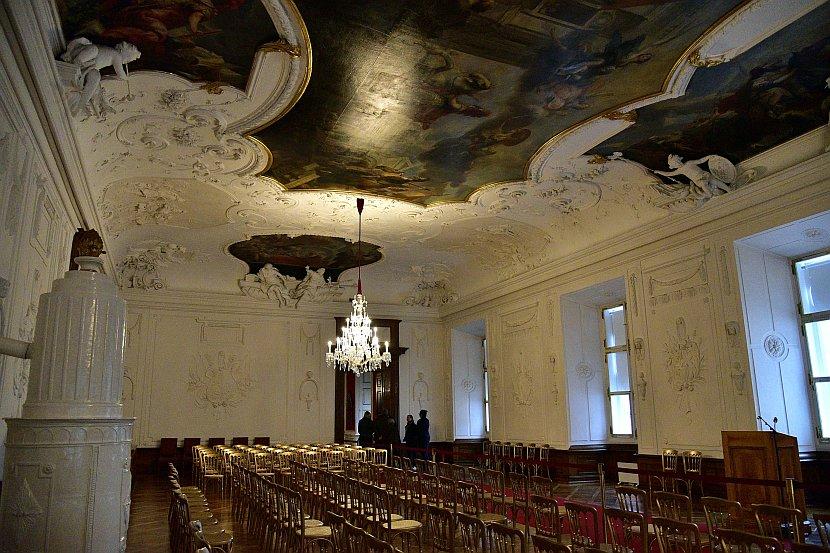 奧地利-薩爾斯堡-薩爾斯堡主教宮殿-前廳Ritter-Saal