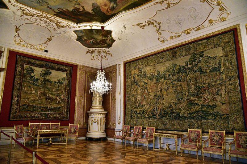 奧地利-薩爾斯堡-薩爾斯堡主教宮殿-Audienz-Saal,接見廳