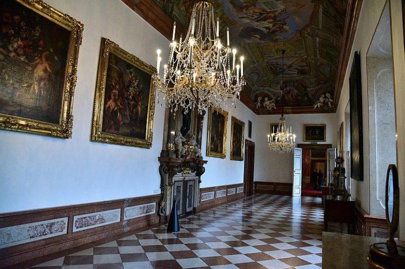 奧地利-薩爾斯堡-薩爾斯堡主教宮殿-畫廊Bildergalerie