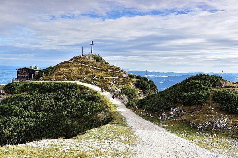 奧地利-薩爾斯堡-溫特山纜車站終點站