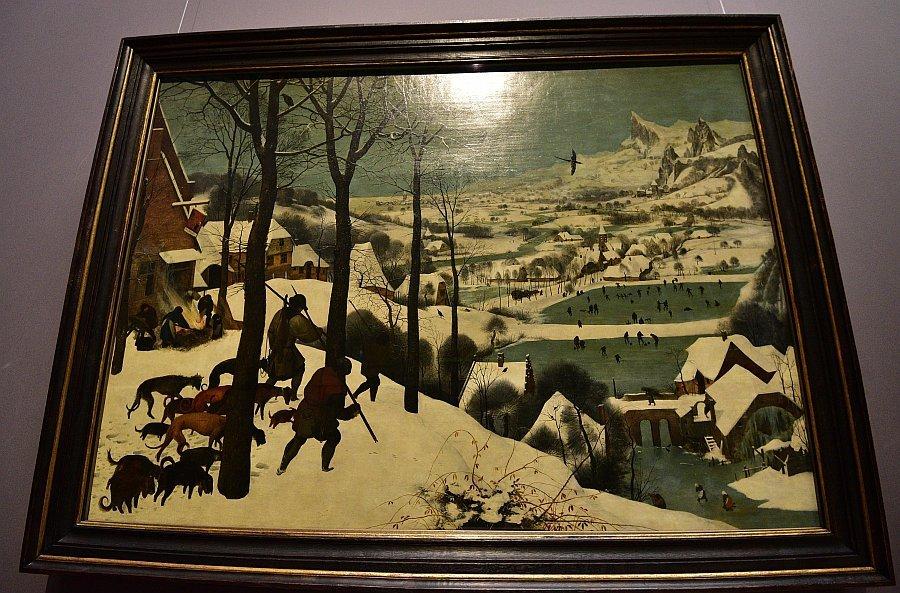 奧地利-維也納-藝術史博物館-雪中狩獵The Hunters in the Snow