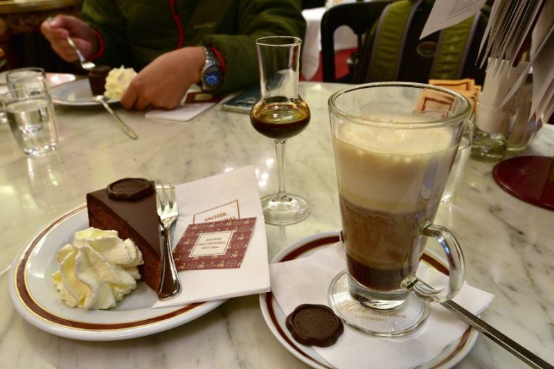 奧地利-維也納-沙赫的蛋糕與咖啡