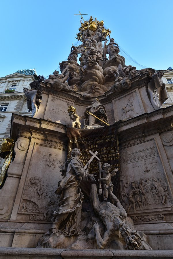 奧地利-維也納-鼠疫紀念碑