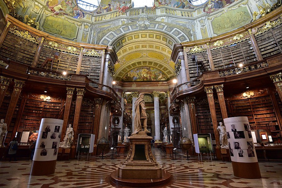 奧地利-維也納-皇家圖書館