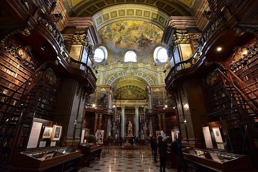奧地利-維也納-奧地利國家圖書館