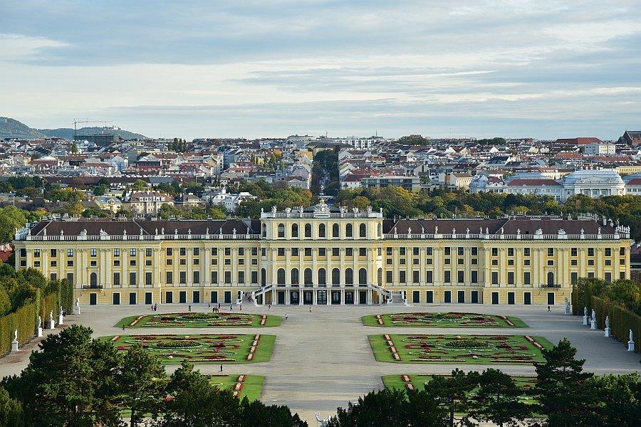 奧地利-維也納-熊布朗宮