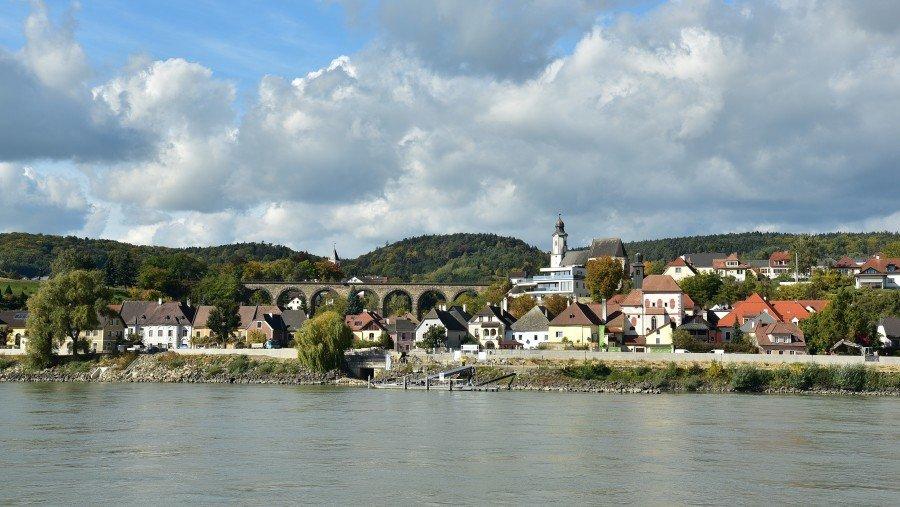 奧地利-維也納-瓦豪河谷-Emmersdorf小鎮