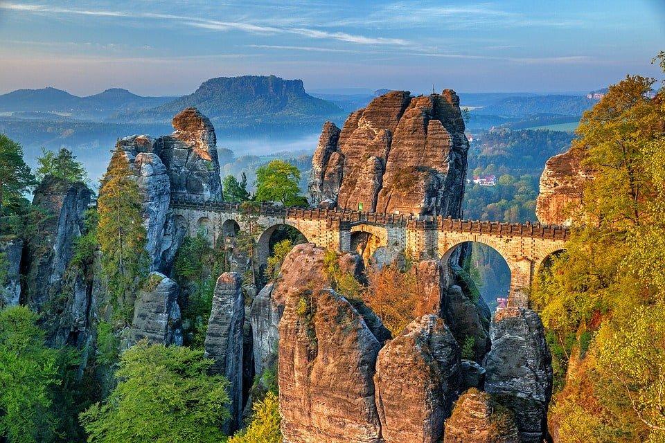 德國-德勒斯登-薩克森.瑞士國家公園-巴斯泰橋