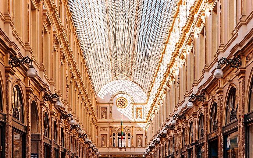 比利時-布魯塞爾-聖赫伯特購物拱廊