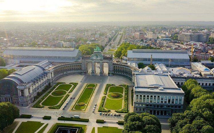 比利時-布魯塞爾-五十週年紀念公園