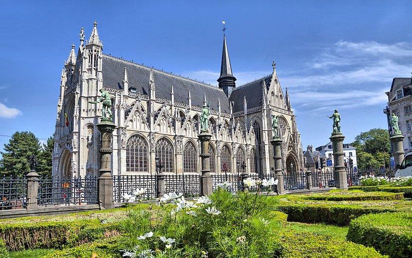 比利時-布魯塞爾-薩布隆聖母教堂